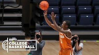 Texas beats West Virginia on Andrew Jones' late 3-pointer [HIGHLIGHTS] | ESPN College Basketball