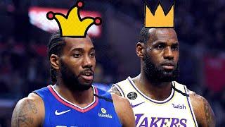Kawhi Leonard Proved He's Not In The Same Class As LeBron James After Embarrassing 2020 Season