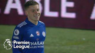 Harvey Barnes gets the Foxes ahead of Leeds United in third minute   Premier League   NBC Sports