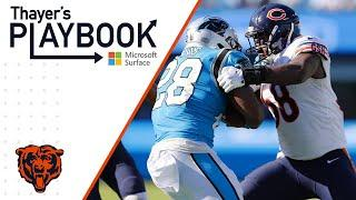 Roquan Smith impacts any given down vs Panthers | Thayer's Playbook | Chicago Bears