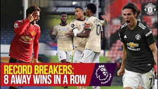 Record Breakers: 8 Premier League Away Wins in a Row | Manchester United