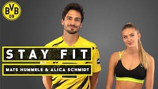 Stay fit - with Mats Hummels & Alica Schmidt   Episode 3