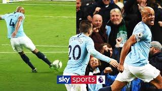Revisiting Vincent Kompany's WONDERSTRIKE which helped seal the PL for Man City