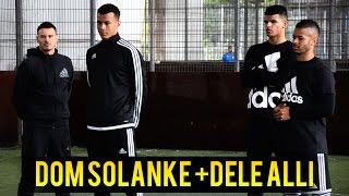 On Set with Dom Solanke and Dele Alli
