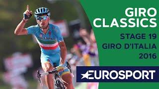 Nibali Reflects on Stage 19 of Giro 2016 | Giro Classics | Cycling | Eurosport