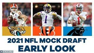 The WAY TOO EARLY 2021 NFL Mock Draft | CBS Sports HQ