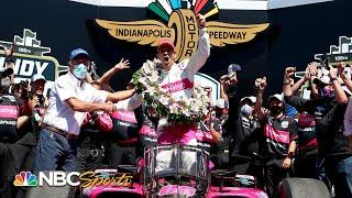 Indy 500: Helio Castoneves dissects strategy that leads to Indianapolis 500 win   Motorsports on NBC