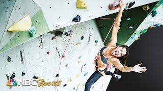 19-year-old Brooke Raboutou is literally climbing the walls I NBC Sports