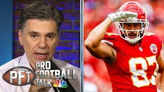 George Kittle, Travis Kelce transform TE market with big deals | Pro Football Talk | NBC Sports