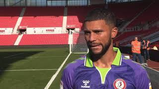 REACTION | Wells delighted to get off the mark! | Stoke City 0-2 Bristol City