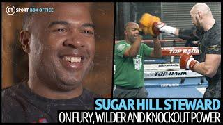 10 revealing minutes with Tyson Fury's new trainer Sugar Hill Steward
