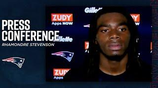 """Rhamondre Stevenson: """"This is what I dreamed of"""" 
