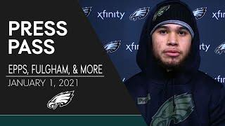 Young Eagles Looking Forward to Opportunity to Play in Week 17 | Eagles Press Pass