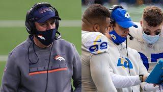 """Vic Fangio on New Chargers Head Coach Brandon Staley, """"They're getting an excellent football coach"""""""