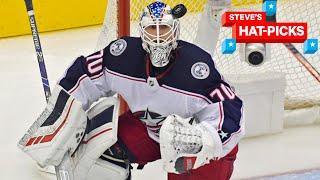 NHL Plays Of The Week: HE MADE 85 SAVES! | Steve's Hat-Picks