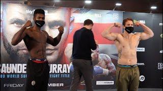 MAKING HIS MATCHROOM DEBUT! - LERRONE RICHARDS WEIGH IN AGAINST TIMO LAINE / WEIGH IN w/ EDDIE HEARN