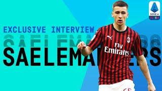 """""""I Feel So Lucky To Play With Zlatan!""""   Alexis Saelemaekers   Exclusive Interview   Serie A TIM"""