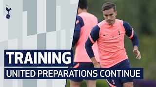 TRAINING | SPURS PREPARE FOR MAN UNITED IN NEW TRAINING WEAR