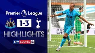 Kane scores his 200th club goal! | Newcastle 1-3 Tottenham | Premier League Highlights