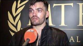 TYRONE McKENNA REACTS TO GOLDEN CONTRACT FINAL LOSS TO OHARA DAVIES / THINKS HE DID ENOUGH TO WIN