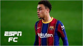 Did Barcelona do Sergiño Dest harm by starting him vs. PSG in the Champions League? | ESPN FC