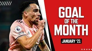 Goal Of The Month January   Sheffield United Goal Of The Month