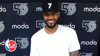 Carmelo Anthony talks about how he became 'Skinny Melo'   NBA on ESPN