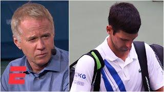 Novak Djokovic 'played with fire one too many times' – Patrick McEnroe | 2020 US Open