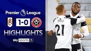 Lookman goal boosts Fulham survival hopes! | Fulham 1-0 Sheffield United | EPL Highlights