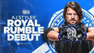 AJ Styles' Royal Rumble Debut official trailer (WWE Network Exclusive)