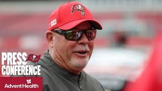 Bruce Arians on Rams QB Jared Goff and Facing Aaron Donald   Press Conference