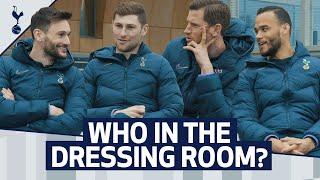 WHO IN THE DRESSING ROOM...? | Most attractive? Best haircut? Future manager?