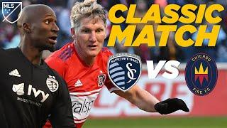 Sporting KC 4-3 Chicago Fire | A Crazy 7-Goal Thriller | Classic MLS Highlights