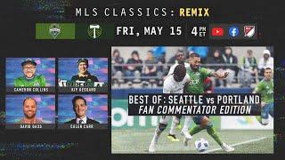 The 45-Year Rivalry: Best of Seattle Sounders vs Portland Timbers | MLS Classics Remix Fan Edition
