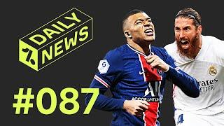 Mbappé more important than Neymar for PSG + Ramos named BEST EVER!  Daily News