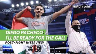 """If it's up to me, I say I'm ready!"" - Diego Pacheco eyes big fights after KO in Mexico"