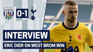 INTERVIEW | ERIC DIER ON WEST BROM WIN | West Brom 0-1 Spurs