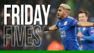 Friday Fives: Goals Against Bournemouth