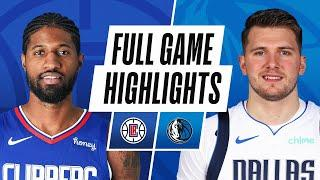 CLIPPERS at MAVERICKS   FULL GAME HIGHLIGHTS   March 17, 2021