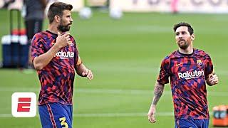 Lionel Messi & Gerard Pique REJOICE! What's next for Barca after Bartomeu's resignation? | ESPN FC