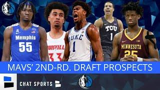 NBA Draft Rumors: Five 2nd-Round Prospects For The Dallas Mavericks In The 2020 NBA Draft