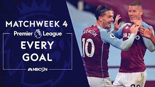Every Premier League goal from 2020-21 Matchweek 4 | NBC Sports