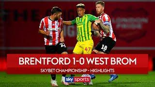 Early Watkins goal secures Bees win over Baggies | Brentford 1-0 West Brom | Championship Highlights