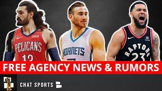 NBA Free Agency News On Gordon Hayward & Fred VanVleet + Trade Rumors On Steven Adams & John Wall