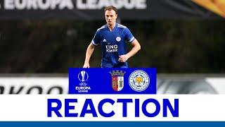 'A Challenge We're Up To' - Jonny Evans - SC Braga 3 Leicester City 3