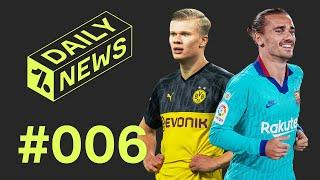 Haaland would NOT start for Man United + why Barcelona hate VAR!  Daily News