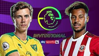 Todd Cantwell vs Lys Mousset | Norwich City vs Sheffield Utd | EPL Invitational 2020