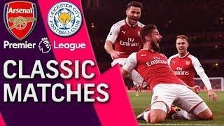 Arsenal v. Leicester City | PREMIER LEAGUE CLASSIC MATCH | 8/11/17 | NBC Sports