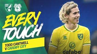 EVERY TOUCH | Todd Cantwell vs Cardiff City ️
