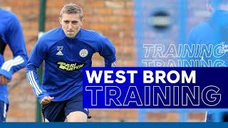 Timothy Castagne Trains With The Foxes   West Bromwich Albion vs. Leicester City   2020/21